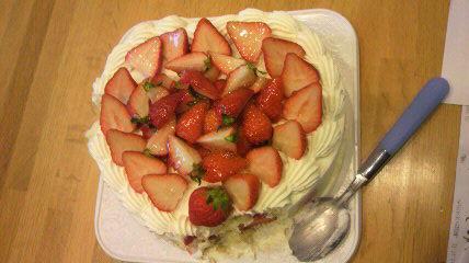 20110512サプライズケーキ