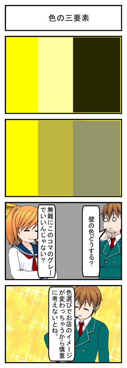 色の三要素