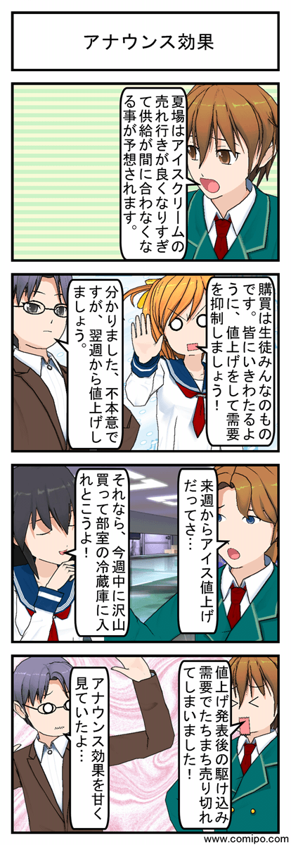 アナウンス効果_001