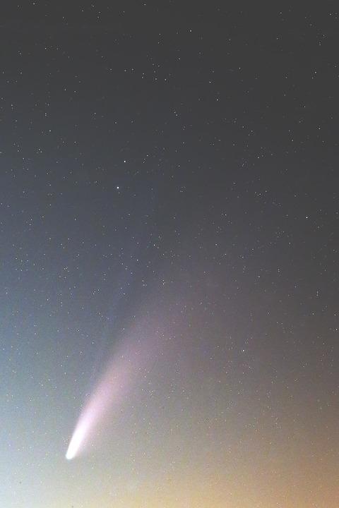 s-シグマ105mmF1.4によるネオワイズ彗星2020.07.19.WebⅣ