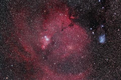 s-クリスマスツリー星団及びカタツムリ星雲.WebⅣ
