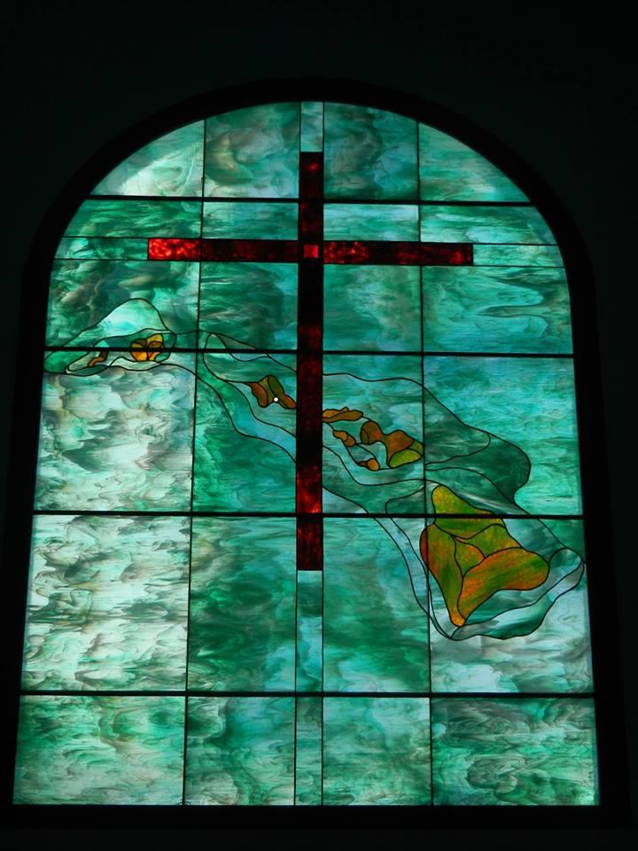 WBC Stained Glass Window