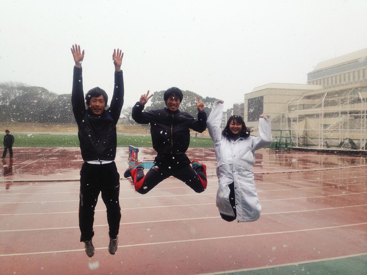 DIARY of KEIO UNIV. T&F  MANAGERS