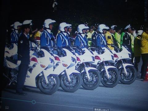 高崎署交通安全運運動出陣式