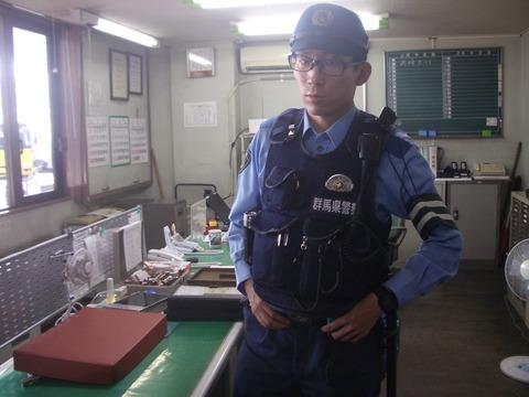 高崎警察署 駅西交番 岩田和也巡査 2