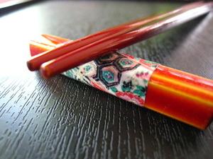 割り箸文化。