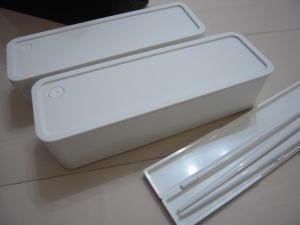 ステンレス 保温・保冷 携帯ランチボックス/銀