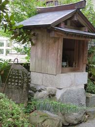4園通院石鐘・薬師堂