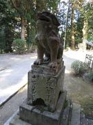 6日吉社狛犬