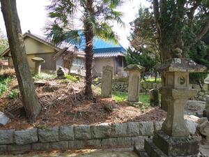3沼口燈籠と庚申塔