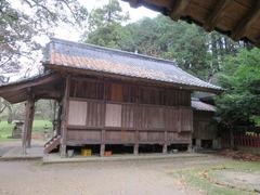 2日吉社・拝殿神殿