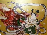 5雲乗寺天女画