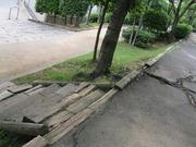 14勝田線枕木階段