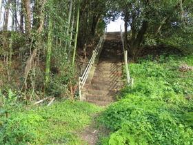 2本木納骨堂霊場への石段