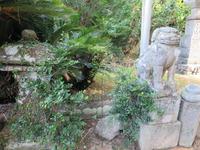 大原神社狛犬 燈籠