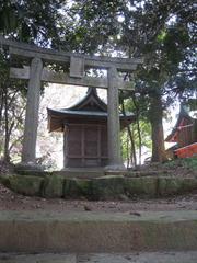 94裏鳥居と貴船神社