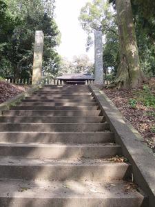 4沼口神門と石段