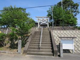 1元松原須賀神社入口