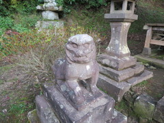 9高樹社狛犬