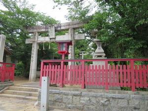 2赤間須賀神社口一鳥居