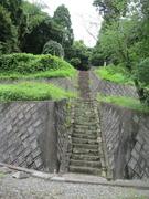 2昼掛八幡宮参道石段(下・中段)