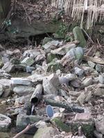 7徳間清水湧水口と枡形石吸水口