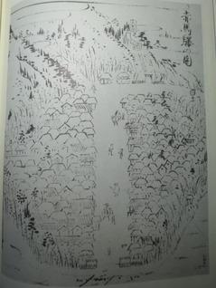 2赤馬驛の圖(筑前名所図会)