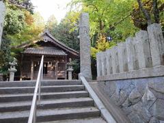 1日吉社・拝殿前