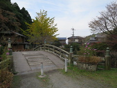3放生池銀杏・廃屋