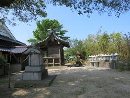 2元松原須賀神社神殿