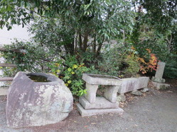 5愛宕神社水盤と汐井台