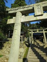 15野坂神社一之宮鳥居左