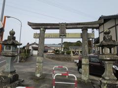 武雄松尾神社一、二の鳥居
