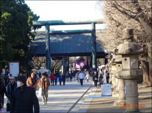 お参り靖国神社