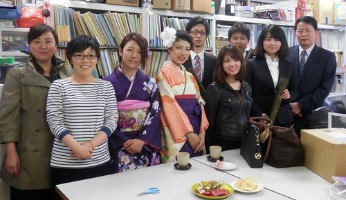 呉さん、尾方さん、蒔田さん、白水くん、平川くん、ご卒業おめでとうございます!!2014.3.25