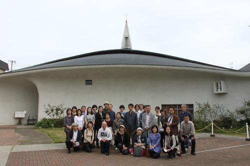 文化資源学会、村野藤吾建築を求めて大阪、宝塚、尼崎を闊歩する!