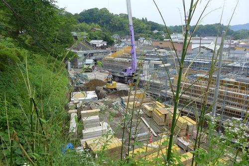 20190618竹田市街なみ環境整備事業の現場視察(その2)