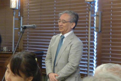 文化経済学、創造都市論の泰斗佐々木雅幸先生、古希記念出版祝賀会、京都某所にて開催さる!