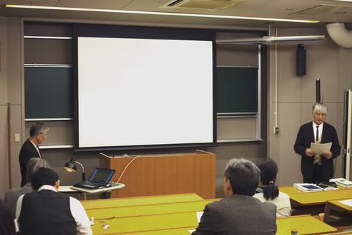 2016年11月2日(水)ふ印ラボ大学院博士後期課程OB中村享一氏の公聴会が開催されました。