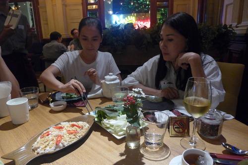 Minh Hanh女史と歩く〜HCMC(ホーチミン市)の別れの晩餐