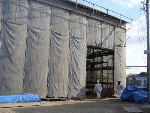 2011.12.23. 三池炭鉱関連施設「長崎税関改修工事見学会」&宮原坑ライトアップへ参加しました