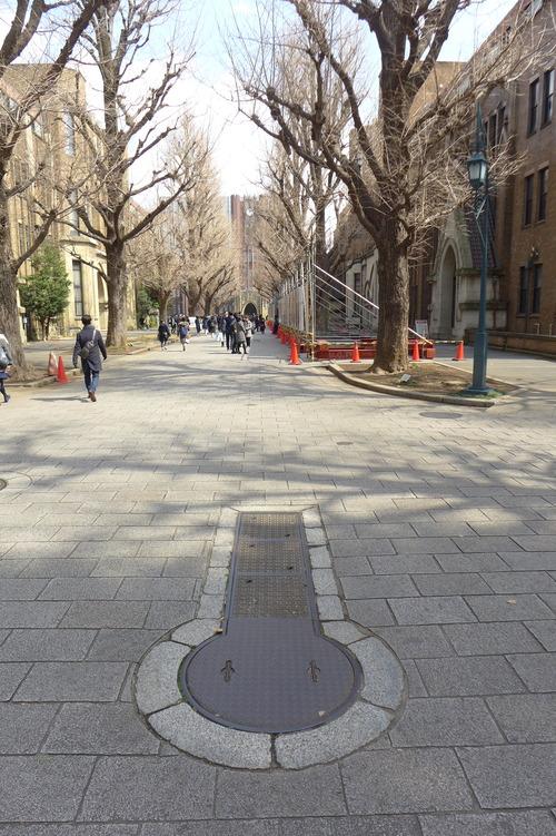 二日間の東京大学本郷キャンパス。文化資源学会理事会、日本文化政策学会理事会、に続けて両日ともに出席。その合間に路上観察をたんのうしました!
