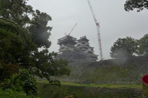 2019年11月18日(月)嗚呼熊本城哉、熊本地震からの震災復興過程を目視調査!