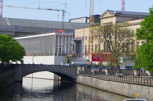 ふ印ボスのドイツまち歩き便りベルリンの博物館島(ユネスコ世界文化遺産登録)の再生展開中!