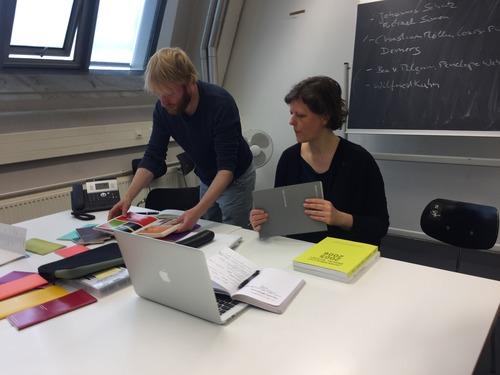 ドイツカールスルーエ造形大学でのSS2017授業が始まりました!2017.5.3