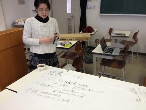 2014.1.10 芸術文化企画演習 古川綾さんによる「遺産と演劇」プレゼンテーション