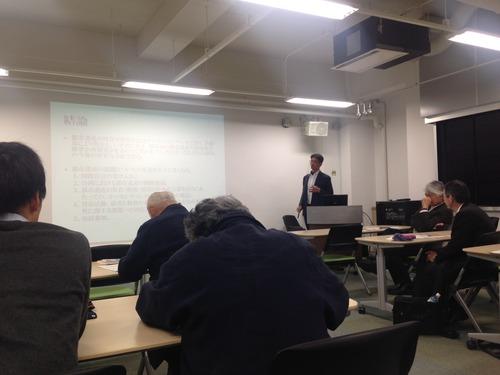 2015.2.24九州産業技術史研究会 特別講師 柯勝釗氏による『台湾における都市遺産の評価と活用』