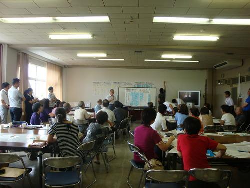 第2回菊池市生涯学習センター整備WSを傍聴してきました。2013.7.28