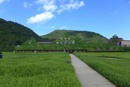 台風一過!!近未来の近江八幡なら快晴のラ・コリーナへ。日本美術院賞受賞作品のフジモリ建築を再訪!!
