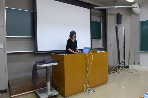 わが国屈指の世界遺産研究・実践者の稲葉信子教授(筑波大学大学院)による集中講義第1回めが開催されました。